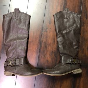 Breckelle's brown riding boots size 11
